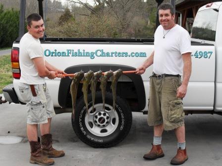 Catfish Fishing Charter