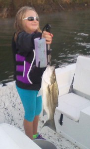 Girl-Striper-Fishing