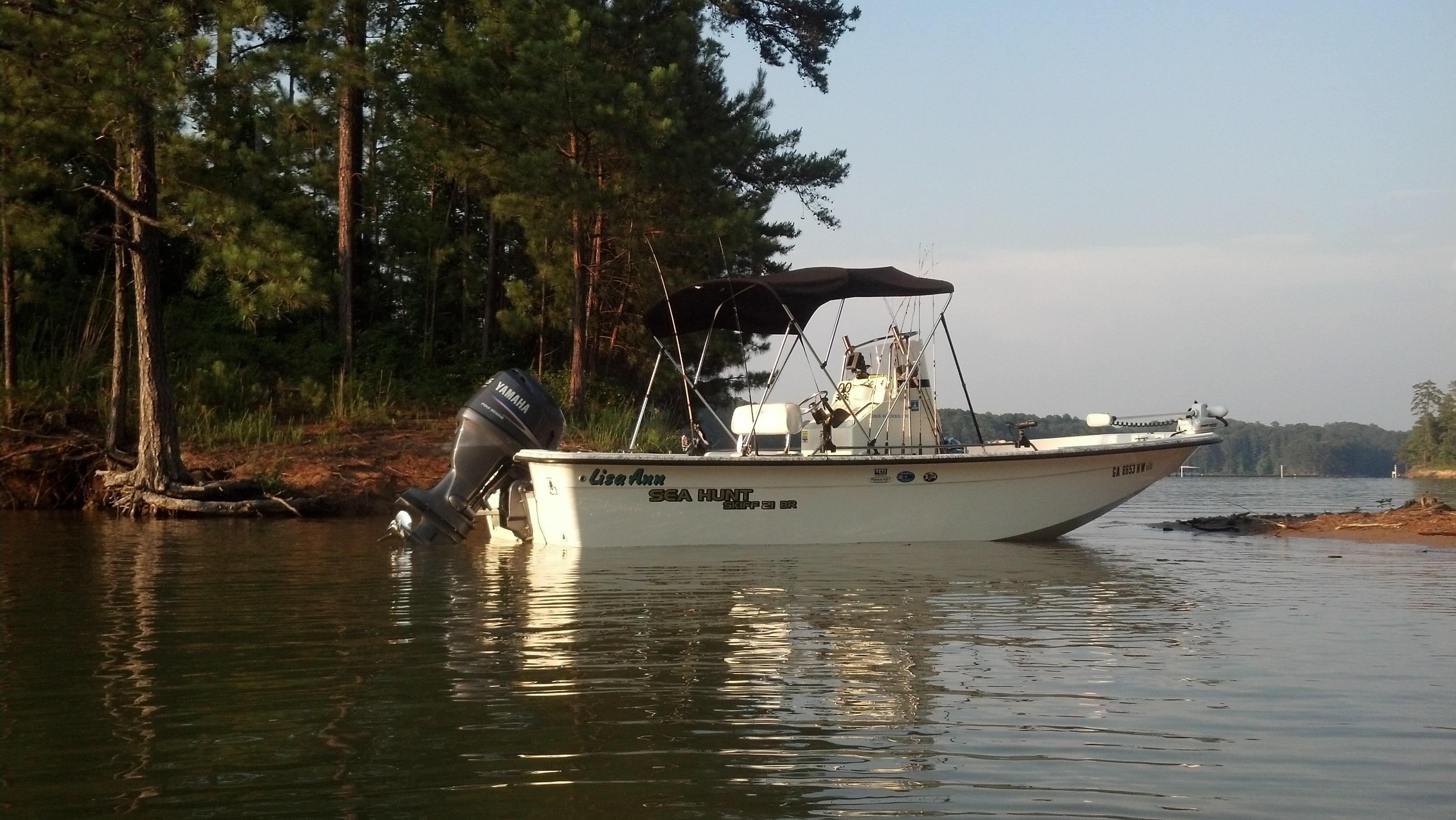Georgia fishing charter boats for Fishing in atlanta